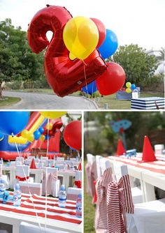 airplane party decorations