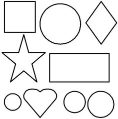 free printable activities lesson plans theme based coloring pages for toddlers preschoolers - Shape Coloring Pages Toddlers
