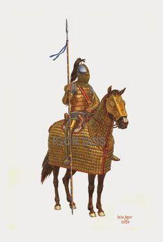Roman Catafract Cavalry, 3rd Century