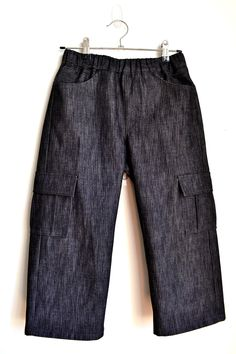 Cropped Junior Cargo Pants