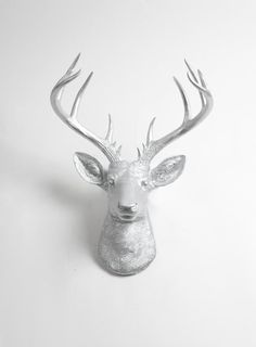 Faux Taxidermy  Faux Deer  The XL Hesher  by WhiteFauxTaxidermy
