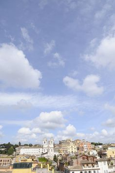rome (taken from the rooftop terrace at our hotel)
