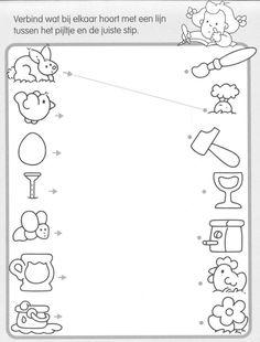 spojco k sob?íYou can find Worksheets and more on our website.spojco k sob? Preschool Books, Preschool Printables, Preschool Math, Preschool Kindergarten, Preschool Worksheets, Pre K Activities, Toddler Learning Activities, Kids Learning, Kids English