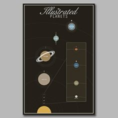 The Illustrated Planets on the redditgifts Marketplace