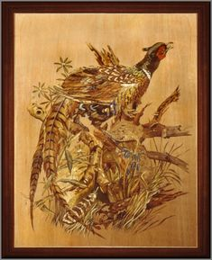 Delightful marquetry.  Author Alan Townsend (Alan Townsend)