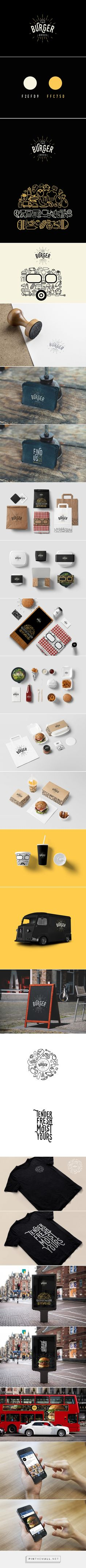 Burger Bro's on Behance... - a grouped images picture - Pin Them All