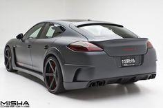 Porsche Panamera GTM от ателье Misha Designs