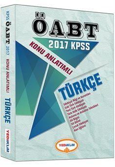 2017 ÖABT Türkçe Öğretmenliği Konu Anlatımlı Yediiklim Yayınları