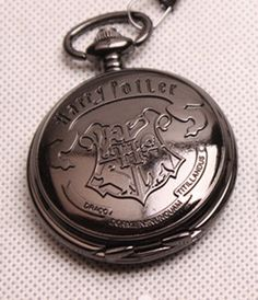 Black Chrome Pocket Watch, $10.99 | 56 Totally Wearable Harry Potter-Themed Accessories