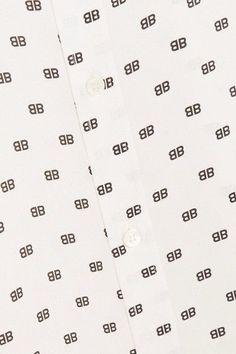 Tabla peridica de los elementos youtube colchanordicos y cojines balenciaga knotted printed silk satin jacquard shirt white urtaz Choice Image