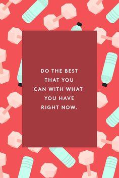 """Best advice I've ever received. """"Faça o melhor com o que você tem agora"""". O melhor conselho que eu já recebi. A melhor hora pra começar é nesse minuto, com os recursos que você possui."""