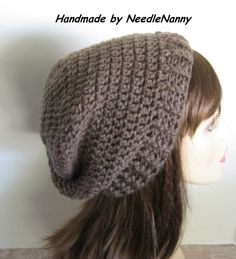 0aa9cee5341 Crochet Hat Beanie Cloche Men Women Teen Hats by NeedleNanny