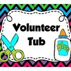 Need a label to put on your volunteer crate/basket/tub? Grab this colorful freebie and get your volunteer materials organized!!  *If you enjoy this...
