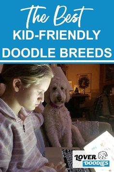 Many people with children think that starting with a puppy will make the perfect fit for a Doodle dog family. While starting with younger pups can help, it is not a sure-fire way to get a dog that loves kids. #KidFriendlyDogs #FamilyDog #DogsForKids Dogs And Kids, Little Dogs, Doodle Dog Breeds, St Berdoodle, Small Doodle, Cool Doodles, Family Dogs, Goldendoodle, Perfect Fit