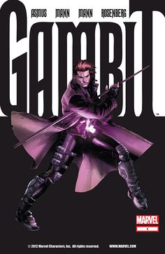 Gambit #1 from Marvel Comics Review. I was excited to find out Gambit is getting his own movie!! Only to be highly disappointed that Channing Tatum was going to be playing him .... he's going to ruin my favorite X-Men.