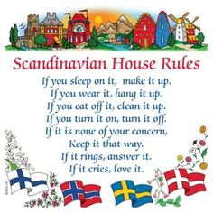 House Rules - I never heard about it! Do you know them in swedish?