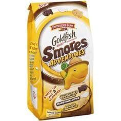 Walmart: Pepperidge Farm Baked Smores Adventures Goldfish Crackers, 6.6 oz