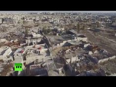 Drone Video Shows the 'Apocalyptic' Birds'-Eye View of a Damascus Suburb Where Practically Every Building Is Destroyed or Damaged | Video | TheBlaze.com