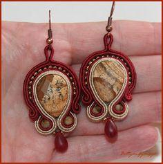 Kis barokk Soutache Jewelry, Wire Wrapping, Pocket Watch, Wraps, Jewellery, Accessories, Fashion, Moda, Jewels