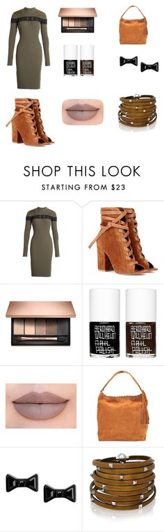 """Outfit"" by maggiegr ❤ liked on Polyvore featuring Alexander Wang, Gianvito Rossi, Uslu Airlines, Jeffree Star, Vanessa Bruno, Marc by Marc Jacobs and Sif Jakobs Jewellery"