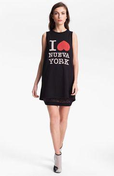 3.1 Phillip Lim 'I Love Nueva York' Muscle Tank