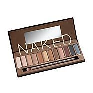 """#9. Tap a little bit of glitter around your eyes. (Not, like, 8th grade girl status, but enough to sparkle when the light hits your face.) Urban Decay's """"Naked"""" set appropriately shimmery eye shadows to make this happen!"""