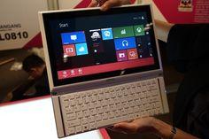 MSI unwraps Slider S20 hybrid tablet with #Windows8 #Tablet