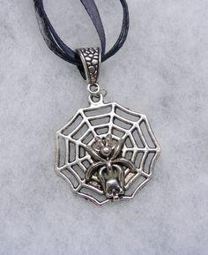 Harry Potter Aragog Spider  in Web Necklace by paulandninascrafts, $9.99