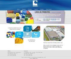 Site institucional da For-Plas Indústria de Embalagens Ltda. Layout e HTML/CSS. Agência: Wdesign e Associadoss