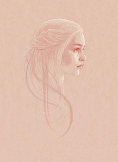Daenerys Targaryen, by Bartosz Kosowski.