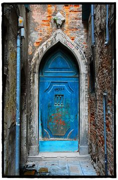 The doors of Venice, Italy
