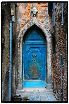 The doors of Venice, Italy