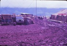 Khe Sanh CB talk about mud and monsoons! 1967