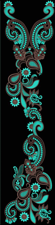 Latest Embroidery Designs For Sale, If U Want Embroidery Designs Plz Contact (Khalid Mahmood, +92-300-9406667) Design# Khushbu14