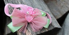 Čelenky - s ružovým srdiečkom - 5354157_