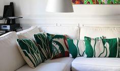 Canapé Coussins Kilometre Alexandra Senes Appartement Paris