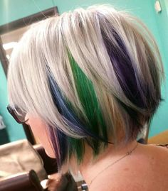 Peacock Colors #hair