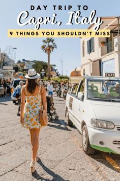 Day Trip to Stunning Capri, Italy | 9 Things You Shouldn't Miss | Dana Berez Travel Guide