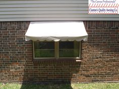 Residential Awning Over Window