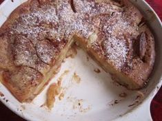 Latvian Sourdough Apple Cake == Discovering Sourdough (try making GF by using Jules, Bob's Red Mill, Pamela's, or other GF AP flour)