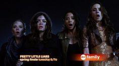 It's gAme over. Don't miss the finale of Pretty Little Liars Tuesday at 8/7c! Plus, get an exclusive full episode sneak peek of the new series, Twisted!