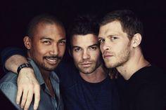 Charles Michael Davis, Daniel Gillies, Joseph Morgan. I'll take all 3 please.