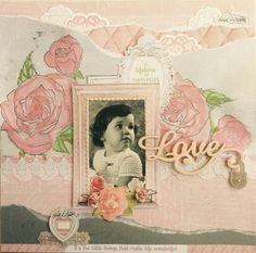 Kaisercraft Cottage Rose. Alison Bevis