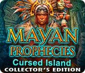 Mayan Prophecies: Cursed Island Collector's Edition - http://www.allgamesfree.com/mayan-prophecies-cursed-island-collectors-edition/    After narrowly escaping the ship of spirits, Coast Guard Officer Alexis and her friends find themselves lost at sea in a life raft. A sudden storm shipwrecks them on an island, and the Mayans living there demand retribution for the artifact stolen from them centuries earlier. Alexis must return...