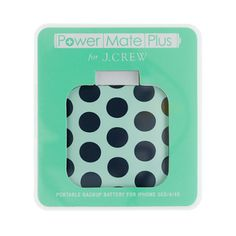 backup battery for iphone 3G/4/4s / j.crew... oh i like this