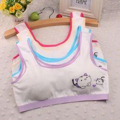 10-14 Y Girls Underwear development period Point printed Sport Undies Kids girls sport