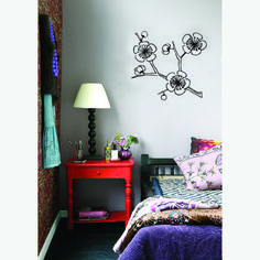 Would look great in your new bedroom!! Fab.com | Cherry Tree Wall Sticker