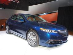 2015 Acura TLX at New York Auto Show