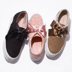 2014 LIZ LISA Licensed Shoes sneaker Ribon shoes Casuals Pink or Black or Brown in Kleidung & Accessoires, Damenschuhe, Turnschuhe & Sneaker | eBay