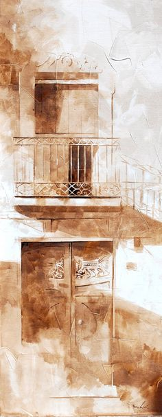 Nono Garcia - I am a great admirer of his simple images. A great gift to convey with such subtlety. Watercolor Texture, Watercolour Painting, Painting & Drawing, John Lovett, Art Pictures, Photos, Landscape Paintings, Landscapes, Coffee Drawing